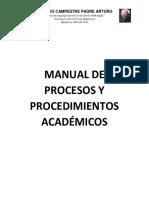 MANUAL DE PROCESOS Y PROCEDIMIENTOS ACADEMICOS.pdf