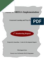 Status of NREGA in PACS States