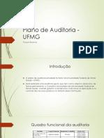 Plano de Auditoria - UFMG.pptx