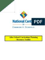 Curriculum Planning Toolkit
