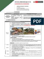 SESION N°2 LOS ORIGENES DE LA HUMANIDAD.docx