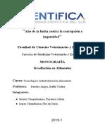 Monografía de Irradiación