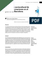 2. El Impacto Sociocultural de Las Transformaciones en El Puerto de Barcelona. Tapia Gomez