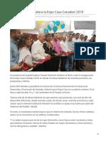10-11-2018 Inaugura Gobernadora La Expo Casa Canadevi 2018-Uniradio