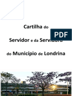 Cartilha Do Servidor Público de Londrina