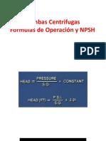 22.-Bombas Centrifugas. Fòrmulas y NPSH A  ok.pptx