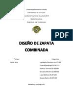 Proyecto de Fundaciones (Combinadas)