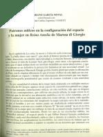 Mariano García_Patrones míticos en Marosa