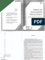 FRANK de VERTHELYI. Temas de Evaluación Psicológica Cap. 1