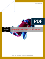 05 corporate tax planning and management.docx