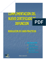 Certificado Defuncion Omc-madrid