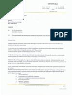 CAKN-CE-001-2017 - Carta Presupuesto y Programa Tradeoff Excavaciones Raisebore Firmada