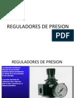 Reguladores de Presion