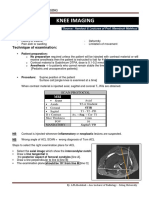 Summary MRI Knee Imaging