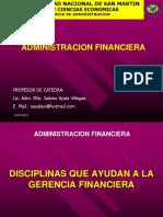 Disciplinas Que Colaboran a La Administracion Financiera II