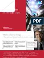 Online Master of Wind Energy