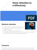 using rhythmic attention to learn more effectively