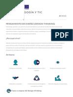 Pensamiento de Diseño (Design Thinking) – Kit de Pedagogía y TIC