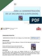 NORMAS PARA LA ADMINISTRACIÓN DE LA VACUNA BCG.pptx