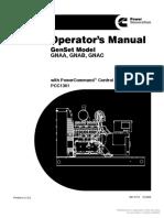 967-0113 Onan GNAA GNAB GNAC Genset (W-PCC1301 PowerCommand) Operators Manual (12-2005)