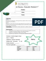 Evaluación de Ciencias Naturales Unidad 0, 4° básico.docx