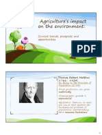 Evironment &Agriculture