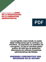 Auditoria Forense - Corrupcion Administrativa