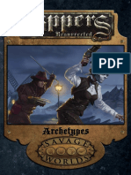 Savage Worlds - Rippers Resurrected - Archetypes