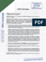 Carta Notarial Aaron Sosaya Nº 2