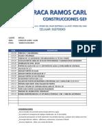 COMEDOR LURIN - Presupuesto Huaraca
