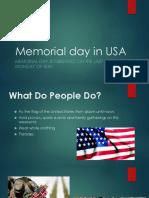 Memorial Day in USA