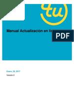 Manual Actualizacion en Linea