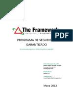 THE FRAMEWORK INFORME DE SEGURIDA D.docx