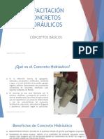 CAPACITACIÓN CONCRETOS HIDRÁULICOS