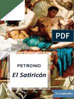El satiricon - Cayo Petronio Arbitro.pdf