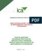 Guia_Auditoria_BPM_Empresas de Fabricacion de Medicamentos ICA