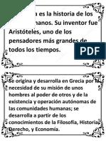 La historia de la política es la historia de los seres humanos.docx