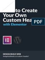 Elementor PDF Guide | Page Layout | Column