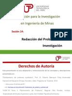 Sesion 14 - Redacción del Problema de Investigación.pdf