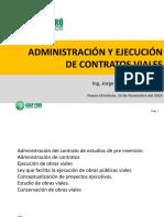 Administración Contratos Viales Completo Hrtqpur