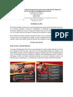 Estudio e Implementación de Propuesta de Mejora Para Reducción de Tiempos de Servicio de La Empresa Salchipaperia Fast Food