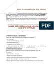 Cahier Des Charges de Conception de Sites Internet