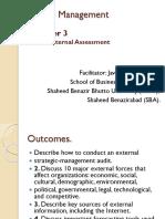 03 Strategy Formulation Internal and External Week5