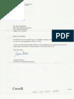 Lebouthillier Letter