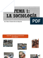 Tema 1 La Sociología