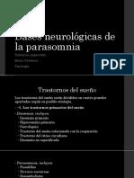 Bases neurológicas de la parasomnia.pptx