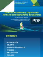 Dinamica de Sistemas y organización territorial en Cajamarca