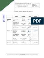 GGT-PO-BT-005 (01) Medición de Tensión de Electrizamiento