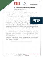 Protocolos de control de plagas