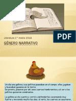 GÉNERO NARRATIVO power 1.pptx